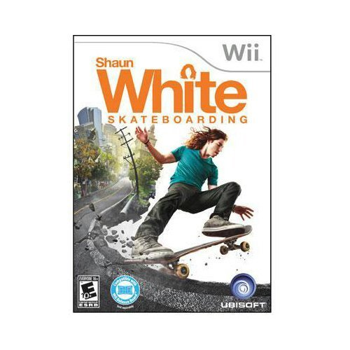 New Ubisoft Shaun White Skateboarding Sports Game Complete Product Standard 1 User Retail Wii by Ubisoft - Game Complete Product Standard