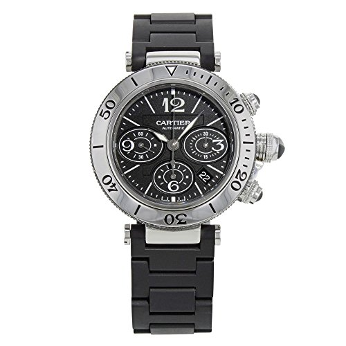 Cartier Pasha Seatimer W31088U2 Stainless Steel Automatic Men's Watch(Certified Pre-owned) by Cartier