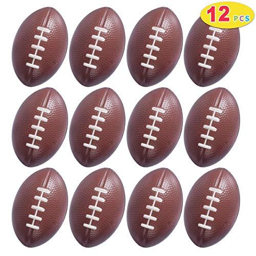 Max Fun 12 Pack Mini Foam Football Stress