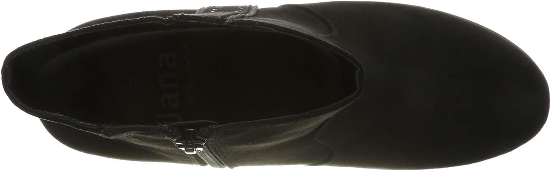 Jana 100% comfort 8-8-25318-23, Stivaletti Donna Nero Black 001