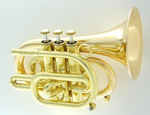 Carol Brass Pocket Trumpet CPT-3000-GLS-L by Carol Brass
