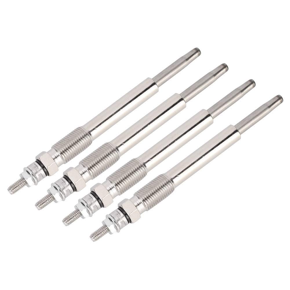 Gorgeri Heater Glow Plug,4pcs Heater Glow Plug 596066 Replacement Fits for Berlingo C4 C5 C8