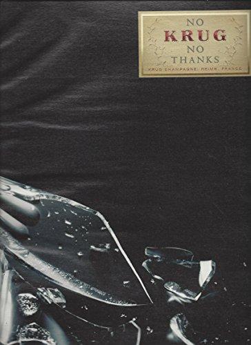 print-ad-for-krug-champagne-no-krug-no-thanks-broken-glass-scene