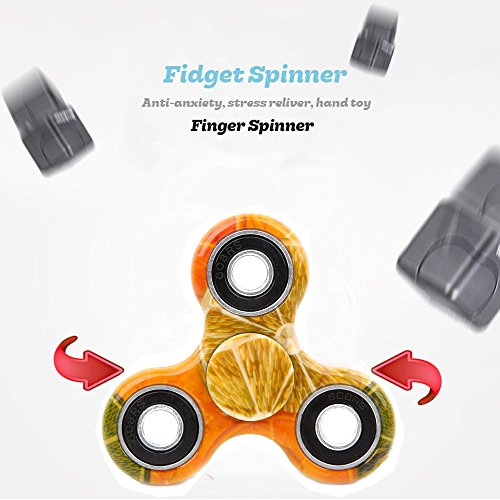 SCIONE-Fidget-Spinner-12-Pack-ADHD-Stress-Relief-Anxiety-Toys-Best-Autism-Fidgets-Spinners-Adults-Children-Finger-Toy-Bearing-Focus-Fidgeting-Restless-Colorful-Hand-Spin-Party-Favor-by