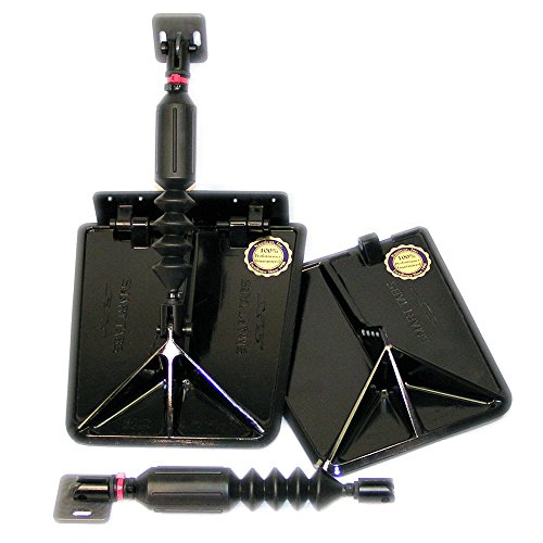 Nauticus ST9510-40 Smart Tab SX Composite Trim Tabs 9.5X10 14-17FT W/40-80 HP - 1 Year Direct Manufacturer (Composite Trim Tabs)