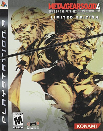 Metal Gear Solid 4: Guns of the Patriots Limited Edition Limited Metal