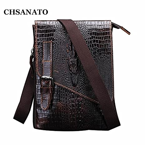 2dba199e0e Buy Genric X095 coffee   2017 New Arrival Brand Design Vintage 100% Genuine  Leather Bag Small Men Messenger Bags Casual Shoulder Bags Online at Low  Prices ...