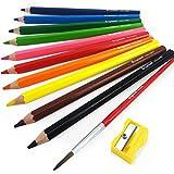 Best Royal-langnickel-pencils - Bruynzeel Aquarelle Pencils - Pack of 10 Assorted Review