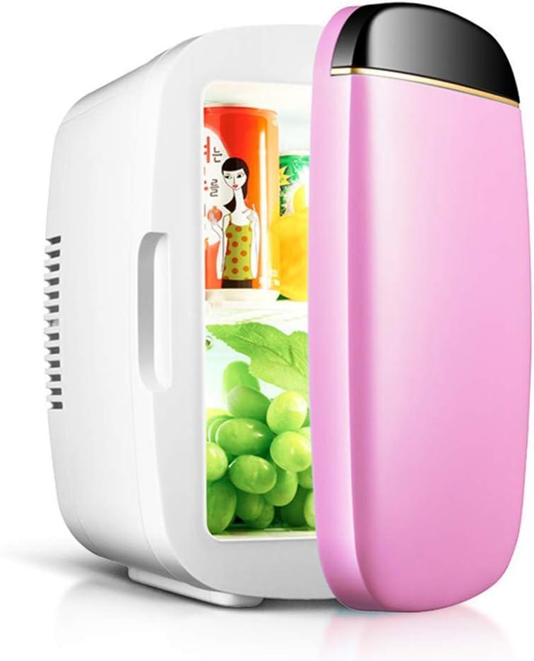 車のミニ冷蔵庫冷蔵庫冷凍庫クールボックス電気クーラーウォーマー12ボルト-220ボルトdc小さなサイレントポータブル用テーブルトップ旅行キャンプアウトドアオフィスホーム使用 - 6 L、C