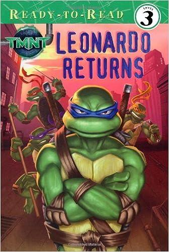 Amazon Com Leonardo Returns Teenage Mutant Ninja Turtles Ready