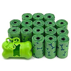 Best Pet Supplies, Inc. Scented Pet Waste / Poop Bag Refills – Green Bones (240 Bags)