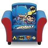 Delta Children Delta Children Kids Upholstered Chair, DC Super Friends   Superman   Batman   The Flash   Aquaman, Multi