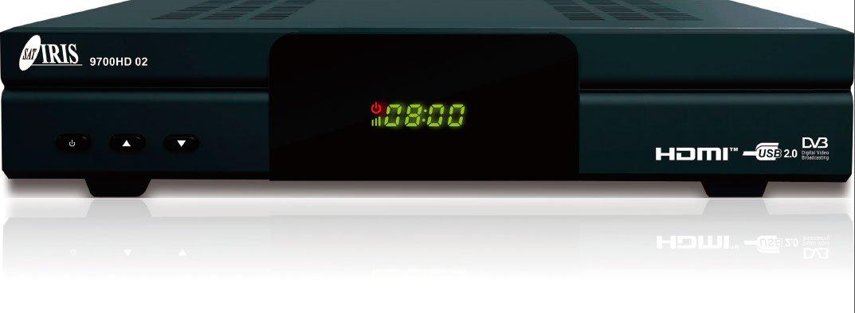 IRIS HD Receptor de TV por satélite Wi Fi HDMI DVB S