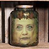 "Hillary Clinton Head in Jar - ""Killary"" --- Halloween / Horror / Political /Funny / Gag / Novelty / Decor / Prop"
