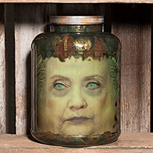 "Amazon.com : Hillary Clinton Head in Jar - ""Killary"