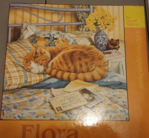 Flora A Sleeping Beauty 750 Piece Cat Jigsaw Puzzle - Sleeping Beauty Jigsaw Puzzle Book