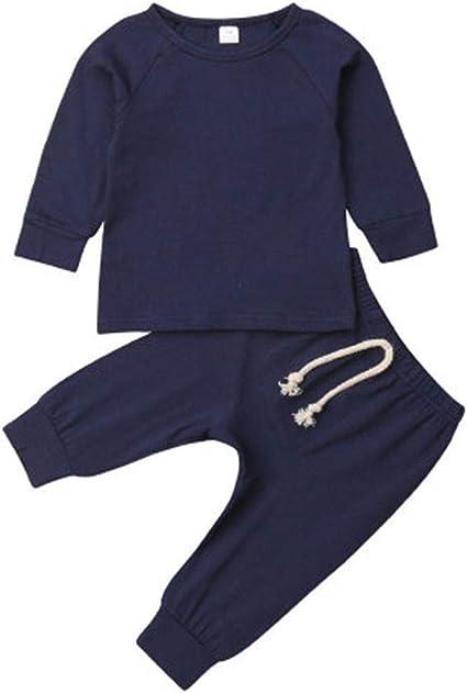 YWLINK BebéS ReciéN Nacidos NiñA NiñO Mono Conjunto Mezcla De AlgodóN Camisa De Manga Larga+Pantalones Medias Leggings Moda Casual Bautismo De Bebe Primer Regalo De CumpleañOs Traje De Rastreo: Amazon.es: Ropa y