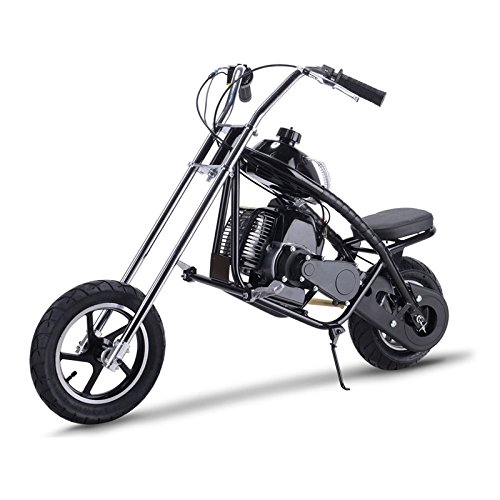MotoTec Kids Gas Mini Chopper - 49cc 2-Stroke - Black (Chopper Kids Mini)
