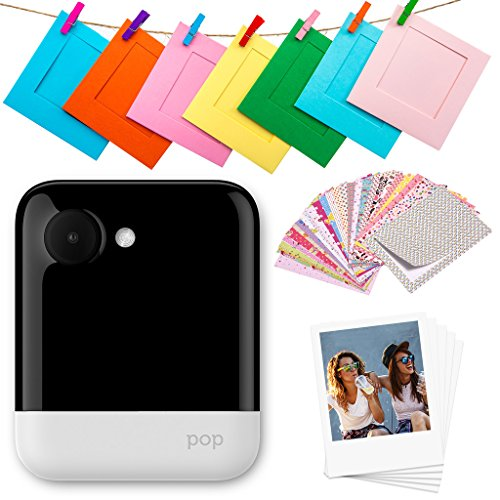 Polaroid POP 2.0-20MP Instant Print Digital Camera with 3.97″ Touchscreen Display, Built-in Wi-Fi, 1080p HD Video, White