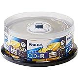 Philips LightScribe blanko Media Disc CD-R 52x Speed/700MB/80Min–25Stück Cake Box