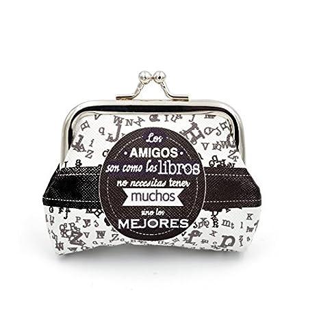 Desconocido Monederos con Frases: Amazon.es: Hogar