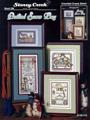Quilted Snow Day Cross Stitch Chart by Stoney Creek Collection