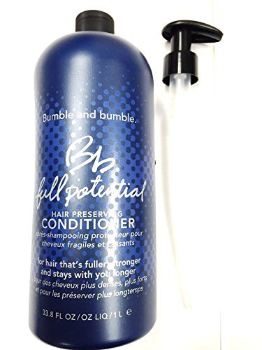 Bumble and Bumble Full Potential Hair Preserving Conditioner 33.8oz (Liter) with Pump by Bumble and Bumble (Image #1)