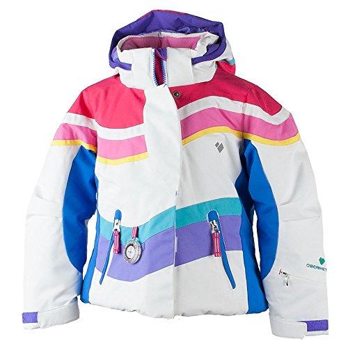 Obermeyer Kids Baby Girl's North-Star Jacket (Toddler/Little Kids/Big Kids) White 8 by Obermeyer Kids