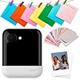 "Polaroid POP 2.0-20MP Instant Print Digital Camera with 3.97"" Touchscreen LCD Display, White (POL-POP1WAMZ)"