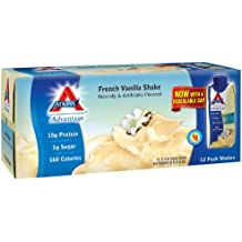 Atkins Advantage French Vanilla Shake (11 fl. oz., 12 pk.) (pack of 6)