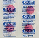 listerine agent cool blue - GUM Red-Cote Disclosing Plaque Tablets- Cherry Flavor (40 tablets)