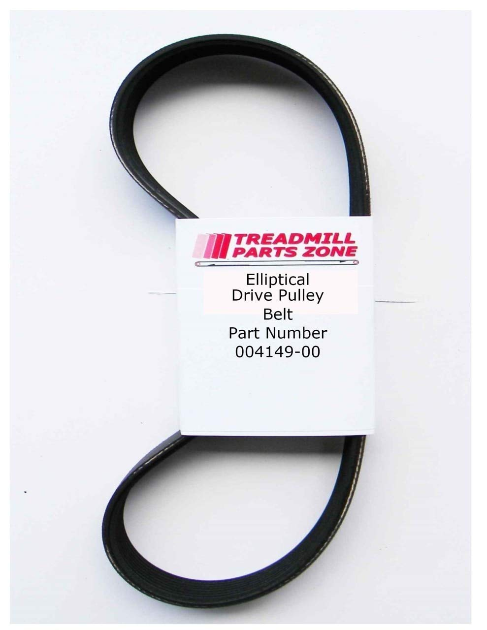 TreadmillPartsZone Replacement Tempo Elliptical Model Evolve CE11 Drive Belt Part Number 004149-00