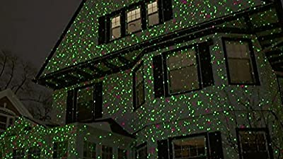Outdoor aluminum alloy christmas laser light projector wireless outdoor aluminum alloy christmas laser light projector wireless remote controlled moving red and green star showmotion for decorating home garden on aloadofball Gallery