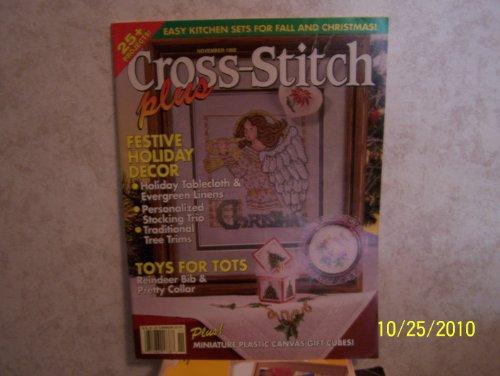 Cross Stitch Plus Magazine NOVEMBER 1992 Vol. 9 No. 6