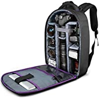 DSLR Camera and Mirrorless Backpack Bag by Altura Photo...