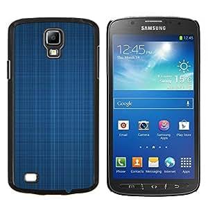 """For Samsung Galaxy S4 Active i9295 , S-type Textura azul de la tela"""" - Arte & diseño plástico duro Fundas Cover Cubre Hard Case Cover"""