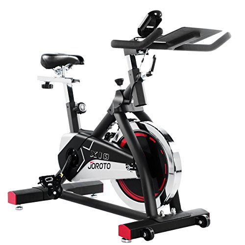 JOROTO Indoor Cycling Bike Trainer - Professional Exercise Bike Stationary Bike for Home Cardio Gym Workout (Model: (Spin Cycle)
