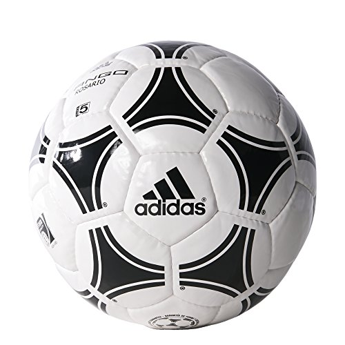 adidas Performance Tango Rosario Soccer Ball, White/Black/Black, Size 4