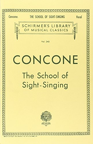 Concone - School of Sight-Singing: ()