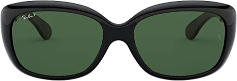 Ray-Ban Jackie oh gafas de sol en negro verde polarizado RB4101 601/58 58
