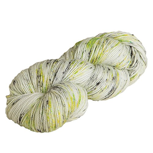 Painted Green Highland (Knit Picks Hawthorne Hand Painted Sock Yarn (City Lights Speckle))