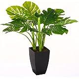 Pianta Verde artificiale,77cm, con vaso