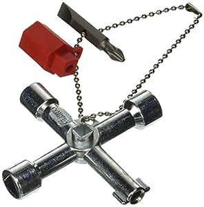 Knipex 00 11 03 Universal Control Cabinet Key Tool