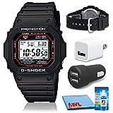 Casio G-Shock Watch (GWM5610-1CR) Bundle