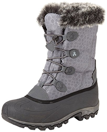 Kamik Women's Momentum Snow Boot (8.5 M US, Charcoal)