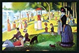 The twenty five year old Georges Seurat spent over two years putting together this painting. The pointillist technique developed for this piece was the application of thousands of tiny Dots of color, which through optical unification, appear to blend...