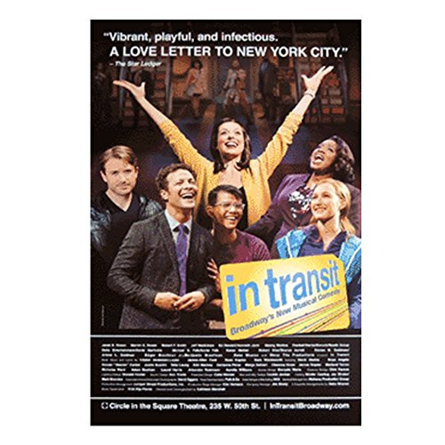 In Transit 2016 Official Broadway Theatre Poster
