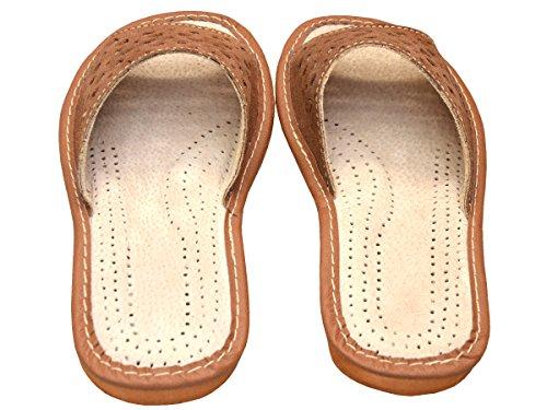 Bawal - Zapatillas de estar por casa para mujer Marrón - Marrón / marrón claro