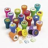 100 Kids Stampers - Assorted Stamps for Kids - Bulk Stamps - Carnival Prizes