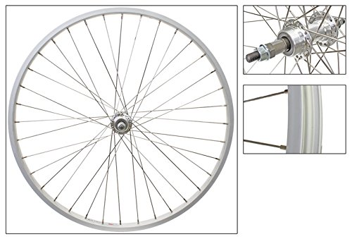 Wheel Master Rear 26 x 1.75/2.125, Silver, Alloy, B/O, 5/6/7 sp, 36H, SS14g Spokes